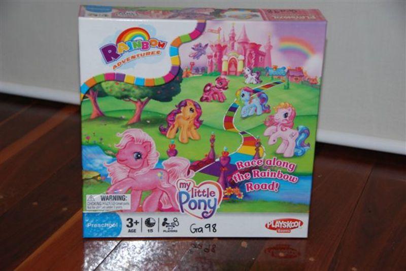 Ga98: My Little Pony Board Game
