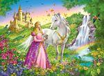 P283: Princess & Horse puzzle 200 pc XXL