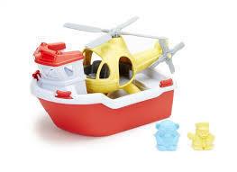I131: Rescue boat and helicopter