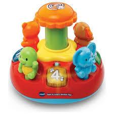 EL100: Push & play spinning top