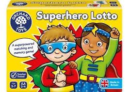 G181: Superhero lotto