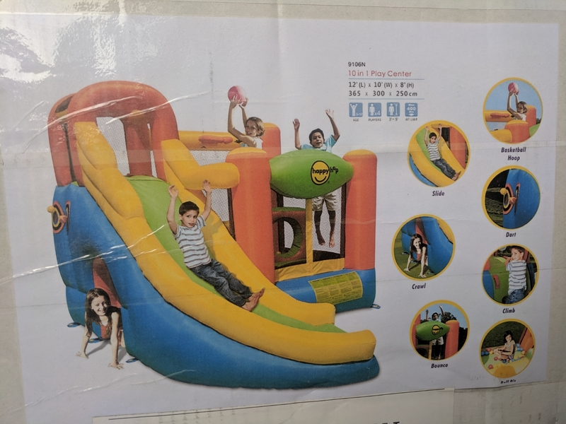 A208: 10 in 1 Jumping Castle