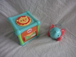 EL128: Poppity pop elephant & Animal activity cube