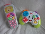 EL132: Game & Learn controller & Sis' remote
