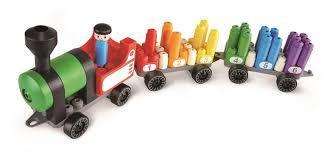 C100: Rainbow counting train