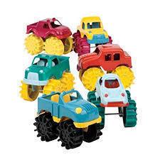 T141: Mini Monster Trucks