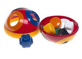 EL190: Rolling ball shape sorter