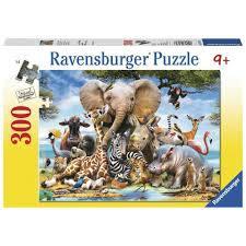 P331: 300 piece jungle puzzle