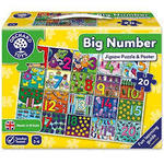 P341: Big number jigsaw puzzle