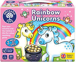 G210: Rainbow unicorns game
