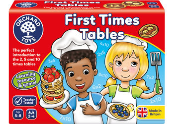 G42: First Times Table game