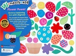1403: Flower power magnet set.