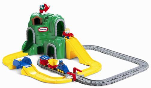416: Little Tikes Road and Rail Set