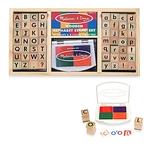 573: Melissa & Doug Alphabet Stamp set