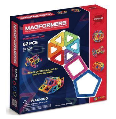 318: Magformers - 62 Piece Standard Set Line