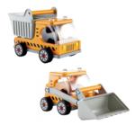 1033: Hape Dumper Truck & Digger