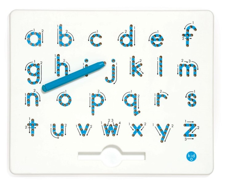 821: Magnatab Lowercase Letters Board
