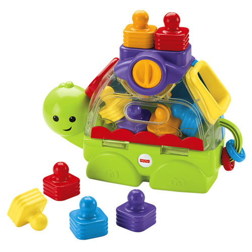 1079: Little Stackers Sort 'n Spill Turtle