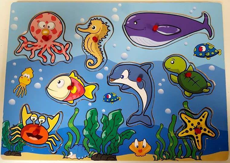 35: Seaworld Insert Puzzle
