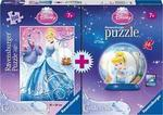 577: Cinderella 100 pc Puzzle and Puzzle Ball