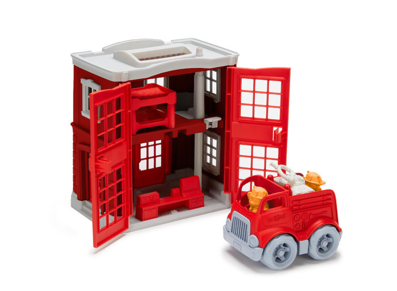210: Fire Station Playset