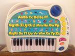 1863: Electronic alphabet piano