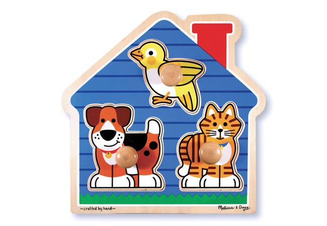 1875: Melissa & Doug Jumbo Pets knob puzzle