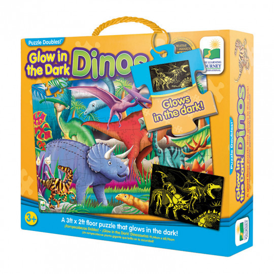 2014: Glow in the Dark Dinos Floor Puzzle