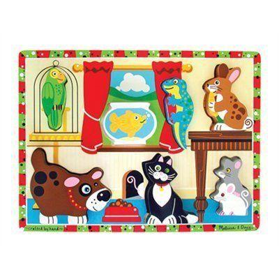 2058: Melissa and Doug Chunky Pets Puzzle
