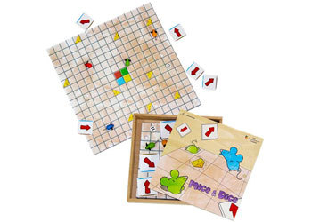 1529: Mice and Dice Coding Board Game