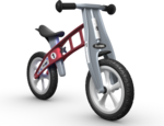 687: First Bike Red