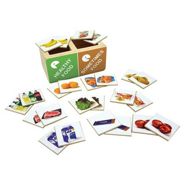 1374: Healthy Food, Sometimes Food Sorting Game