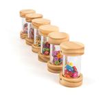 1101: Stackable Wooden Rattles