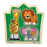 2203: Zoo Friends Large Peg Puzzle