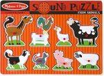 1058: Farm Animals Sound Puzzle