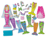 E116: Merry mermaid magnetic dress-up