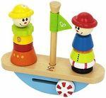 F115: Stacking & Balance Boat Game