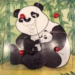 D181: Panda Jigsaw Puzzle