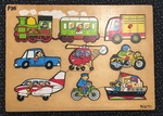 P35: Transport Puzzle with knobs