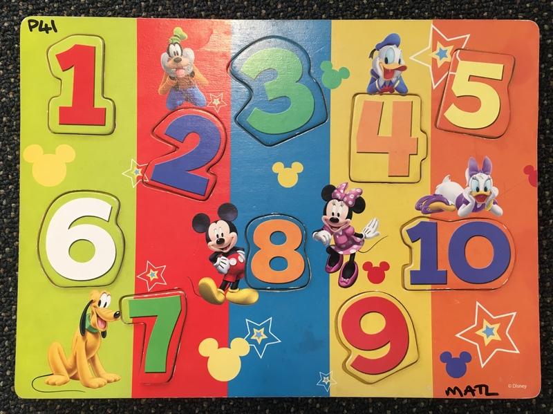P41: Disney Numbers Puzzle