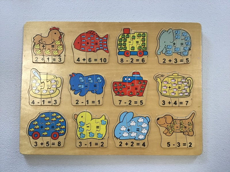 P60: Counting Puzzle (12 x 3 pieces)