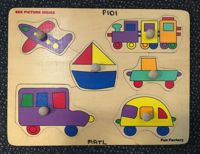 P101: Wooden - Vehicles