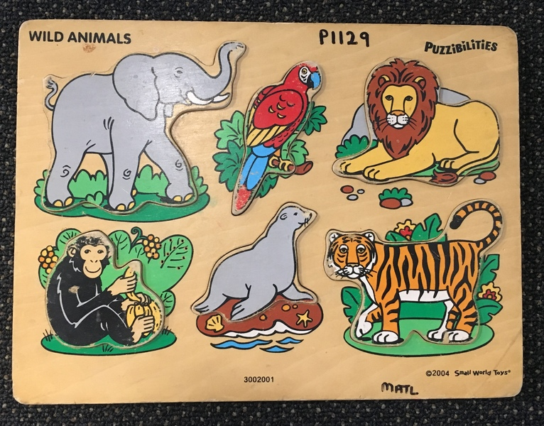 P1129: Wild Animals puzzle