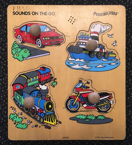 P1180: Sounds on the Go Puzzle with knobs