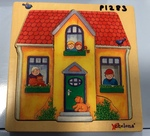P1283: Chelona 3 layer Build a House puzzle