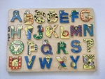 P1347: Alphabet capitals with animals Puzzle