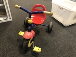 R2: Dino Kettler Trike (with bucket) red & blue