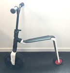 R1705: Scoot & Ride Scooter & Push Bike Red & White 5yr+ max 100kg