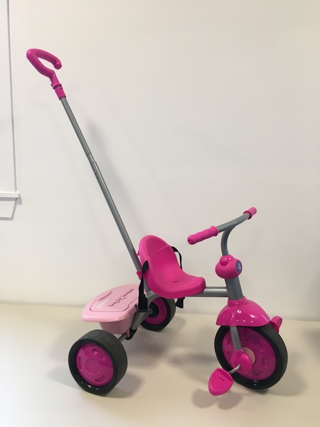 R1801: SmarTrike Pink with parent handle