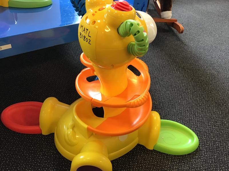B1802: Fisher Price Go Baby Go Sit to Stand Giraffe